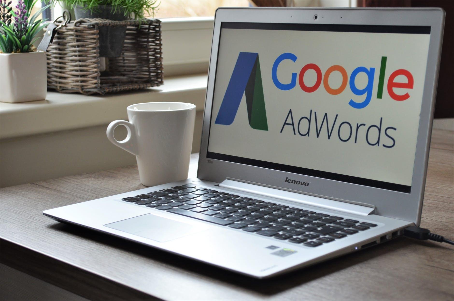 Référencement google adwords