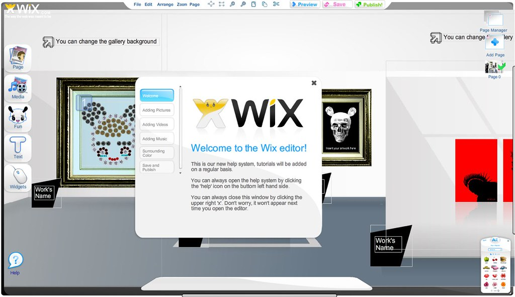 référencement google avec wix
